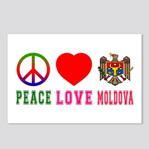 Peace Love Mauritius Postcards (Package of 8)