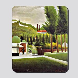 Henri Rousseau: Customs House Mousepad