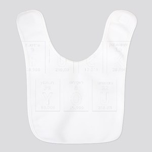 Periodic Table Of Fuck You Polyester Baby Bib