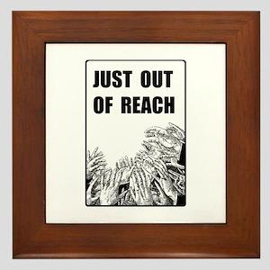 OUT OF REACH Framed Tile