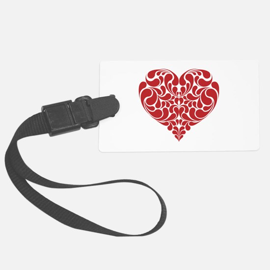 Real Heart Luggage Tag
