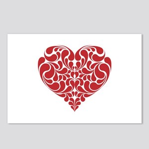 Real Heart Postcards (Package of 8)
