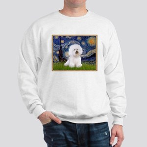 Starry Night Bichon Sweatshirt