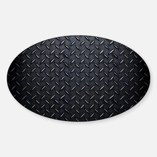 Black Diamond Plate Design Decal