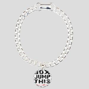 BOX JUMP THIS - WHITE Charm Bracelet, One Charm