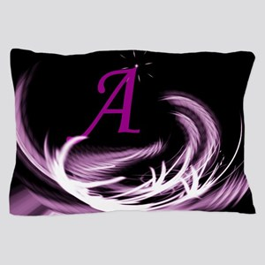 abstract purple Pillow Case