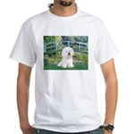 Bridge & Bichon White T-Shirt