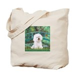 Bridge & Bichon Tote Bag