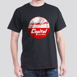 Capital Airlines Constellation Dark T-Shirt