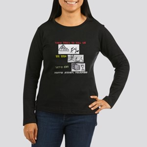 2542477ee5a Jewish Holiday Women s Long Sleeve Dark T-Shirt
