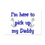USN I'm here to pick up Daddy ver4  Mini Poster Pr