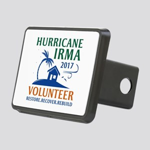 Hurricane Irma Volunteer Rectangular Hitch Cover