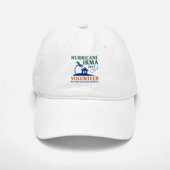 Hurricane Irma Volunteer Baseball Baseball Cap