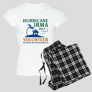 Hurricane Irma Volunteer Women's Light Pajamas
