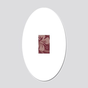 Brown 3 X 5 Area Rug 20x12 Oval Wall Decal