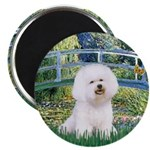 Bridge & Bichon Magnet