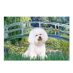 Bridge & Bichon Postcards (Package of 8)