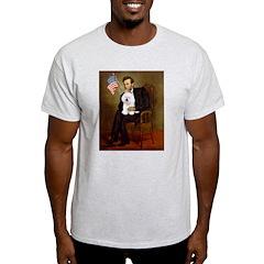 Lincoln & his Bichon T-Shirt