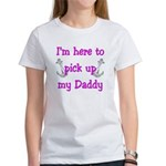USN I'm here to pick up my Daddy ver5 Women's T-S