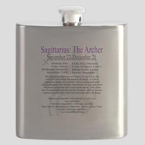 Sagittarius traits Flask