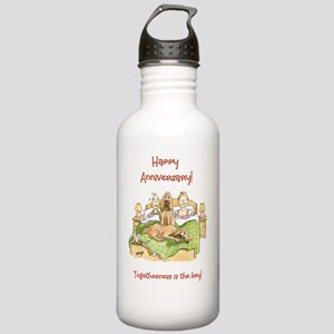 Happy Anniversary - to Stainless Water Bottle 1.0L