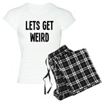 Let's Get Weird Funny Women's Light Pajamas