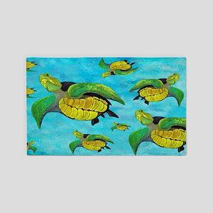 Sea Turtle 3'x5' Area Rug