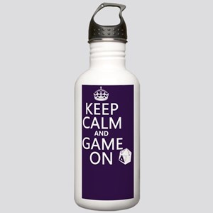 Keep Calm and Game On Stainless Water Bottle 1.0L