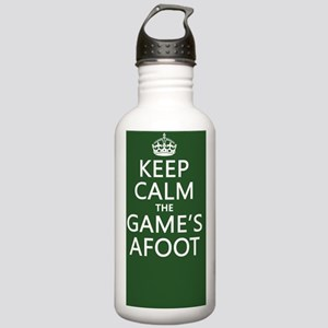 Keep Calm the Game's A Stainless Water Bottle 1.0L