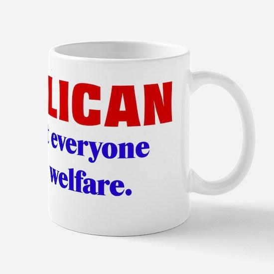 Republican Welfare Mug