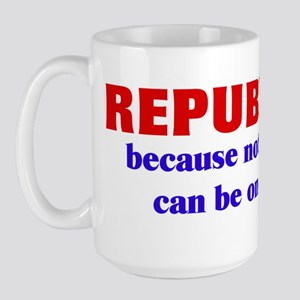 Republican Welfare Large Mug