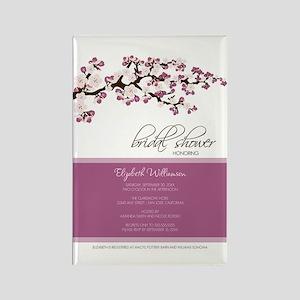 1-bridal-shower_blossom_lilac Rectangle Magnet