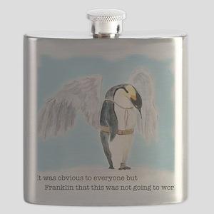 Franklin the Penguin Flask