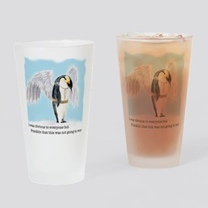 Franklin the Penguin Drinking Glass