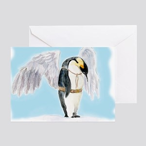 Franklin the Penguin Greeting Card