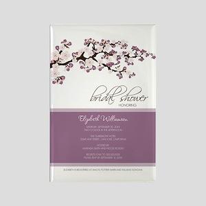 1-bridal-shower_blossom_lavender Rectangle Magnet