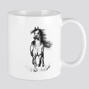 Runner Arabian Horse Mug
