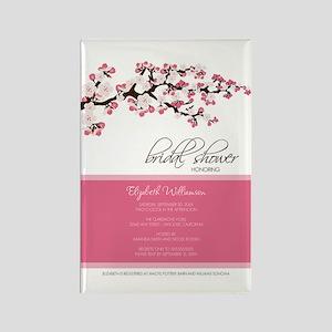 1-bridal-shower_blossom_rose Rectangle Magnet