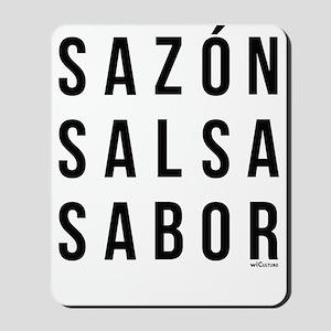 Sazon Salsa Sabor Mousepad