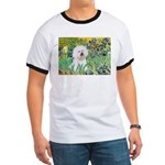 Irises and Bichon Ringer T