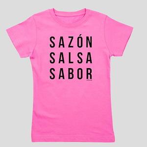 Sazon Salsa Sabor Girl's Tee