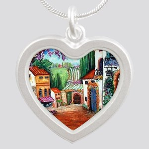 Tuscany Silver Heart Necklace