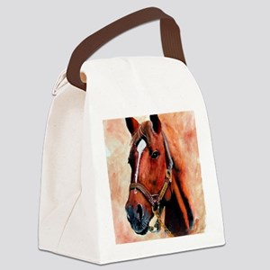 Triple Crown Canvas Lunch Bag