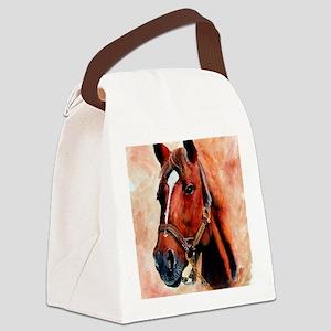 Triple Crown Canvas Lunch Bag