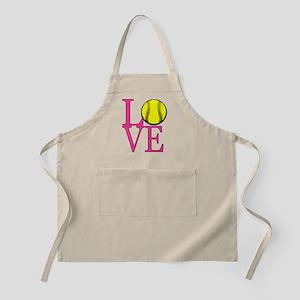 LOVE SOFTBALL Apron