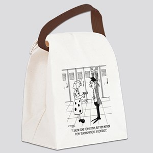 Teaching Without a Contract Canvas Lunch Bag
