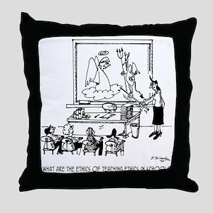Ethics of Teaching Ethics Throw Pillow