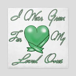 I wear Green Queen Duvet