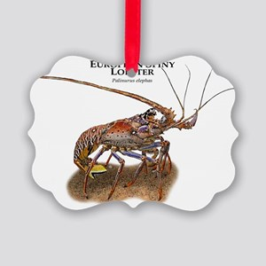 European Spiny Lobster Picture Ornament