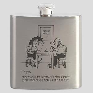 Big Future in Paper Shredding Flask